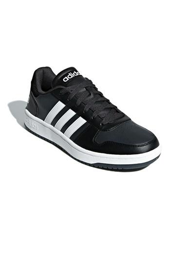 adidas adidas B44699 Hoops 2.0 Erkek Lifestyle Ayakkabı Siyah